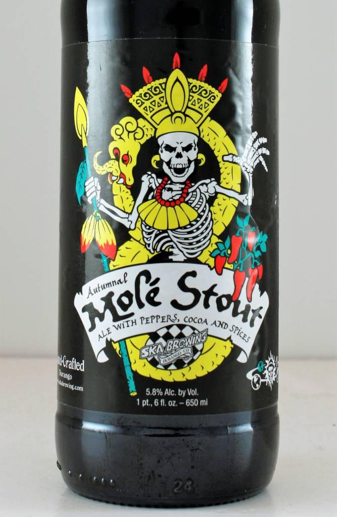 """Ska Brewing """"Mole Stout"""", California"""