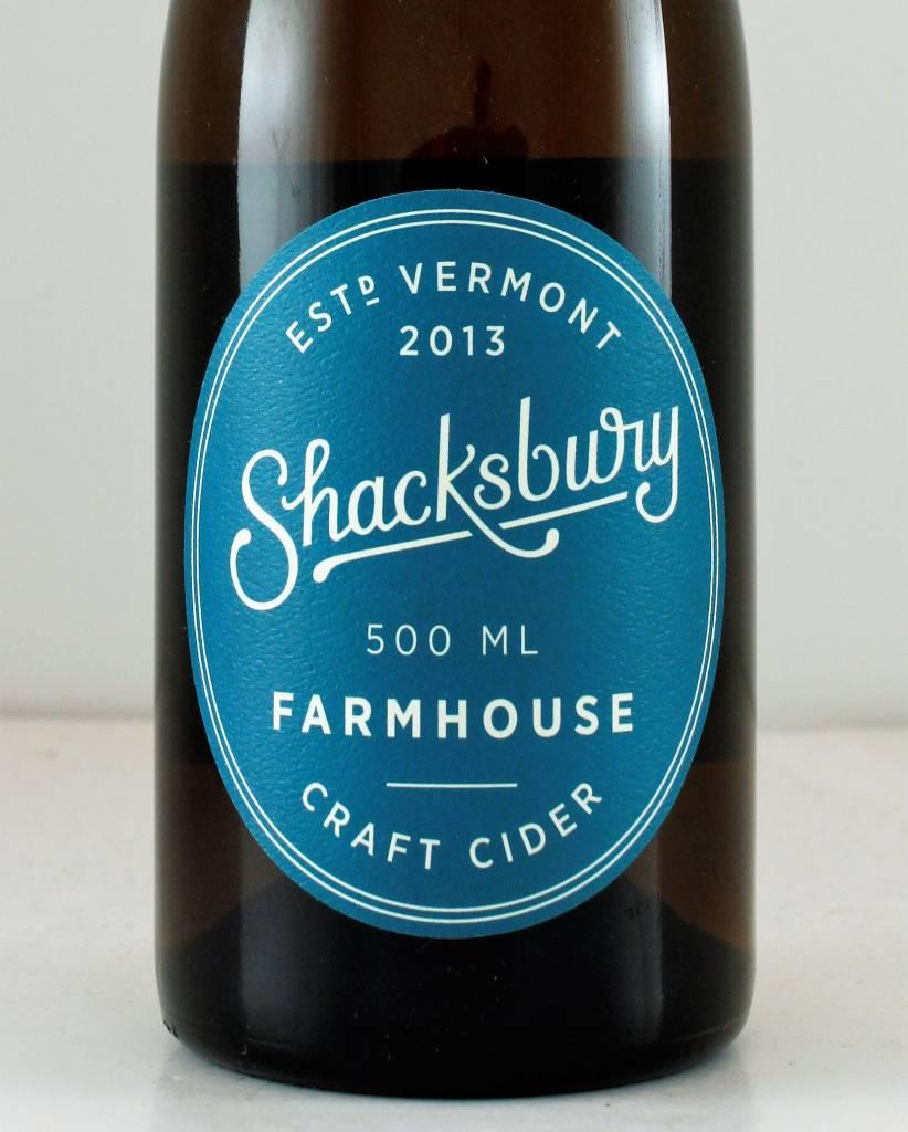 Shacksbury Farmhouse Cider Vermont - 500ml