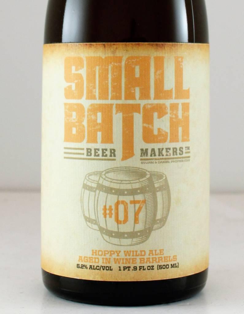 "Small Batch ""#7"" Hoppy Wild Ale, California"