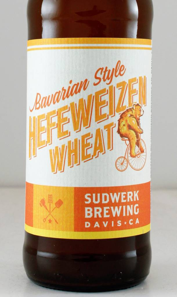 "Sudwerk Brewing ""Bavarian Wheat Hefeweizen"", California"