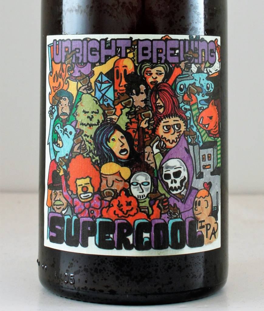 "Upright Brewing ""Supercool"" IPA, Oregon"