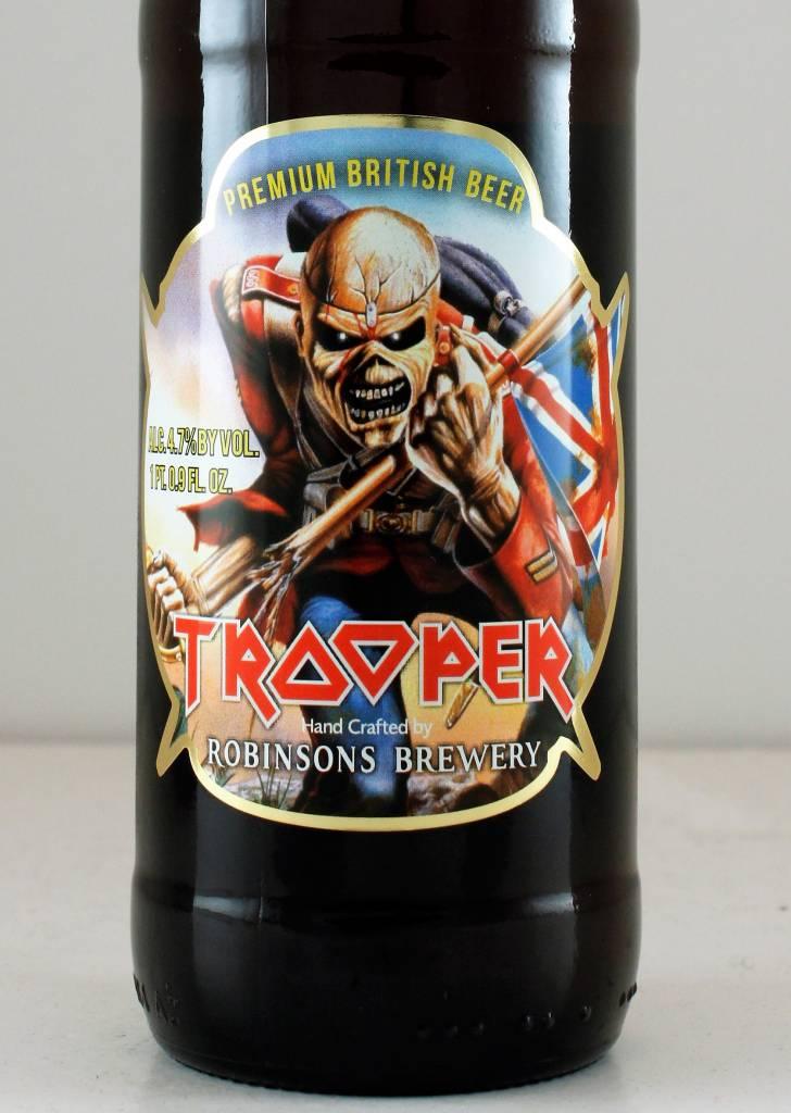 Robinsons Brewery Trooper Premium British Beer, England