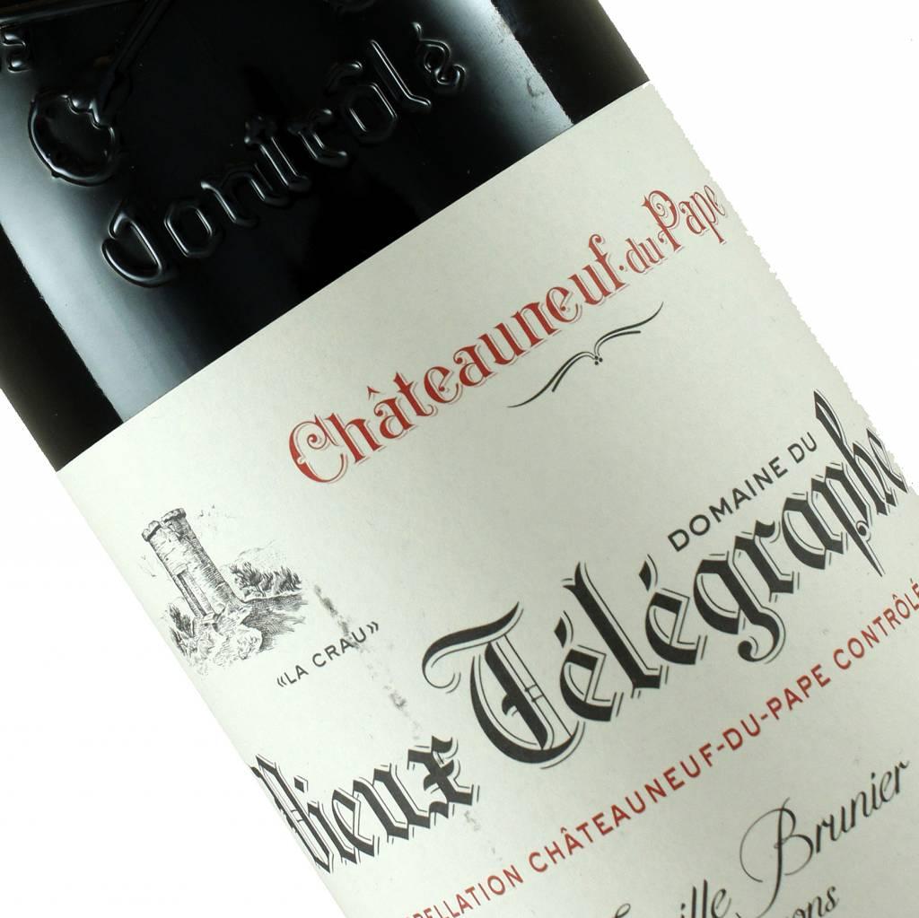 """Domaine du Vieux Telegraphe 2015 Chateauneuf-du-Pape """"La Crau"""", Rhone"""