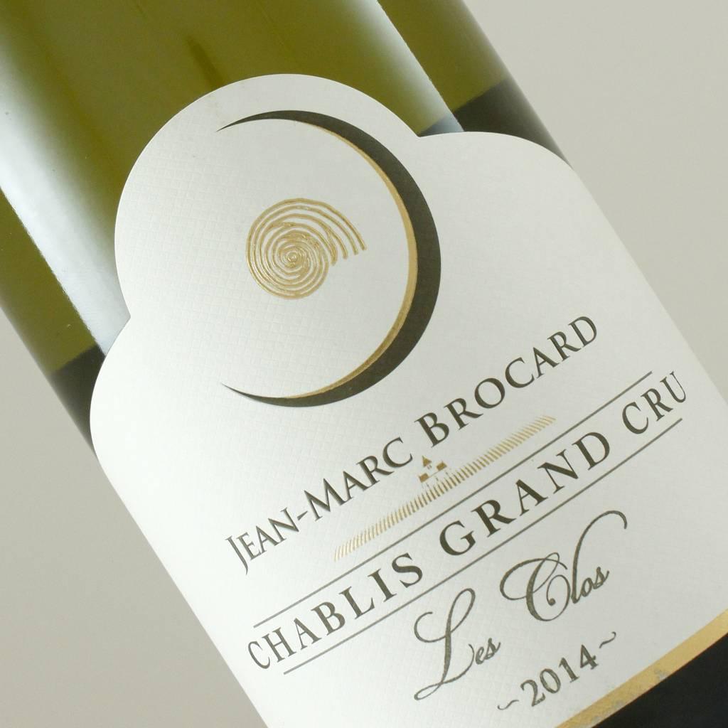 "Jean-Marc Brocard 2014 Chablis Grand Cru ""Les Clos"", Burgundy"