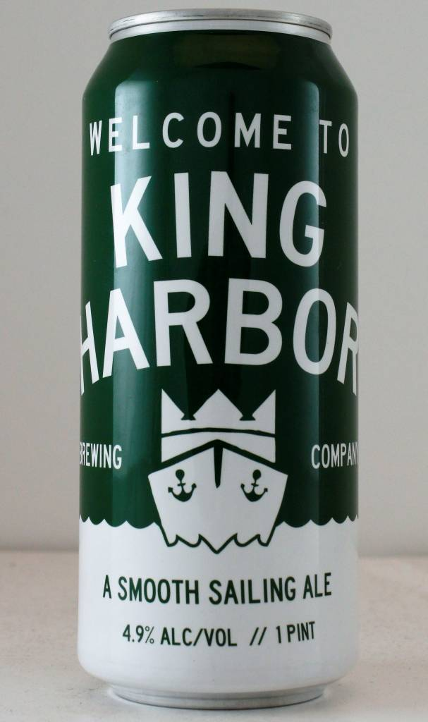 """King Harbor Brewing """"Welcome to King Harbor"""" - 16oz can"""