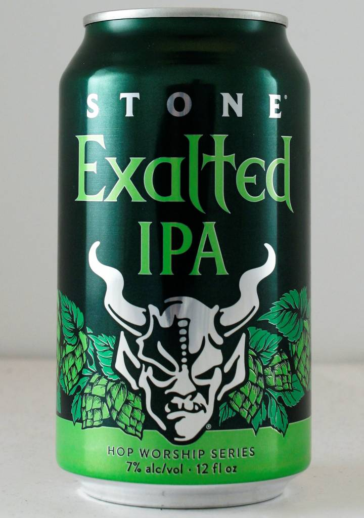 """Stone Brewing """"Exalted"""" IPA - 12oz can"""