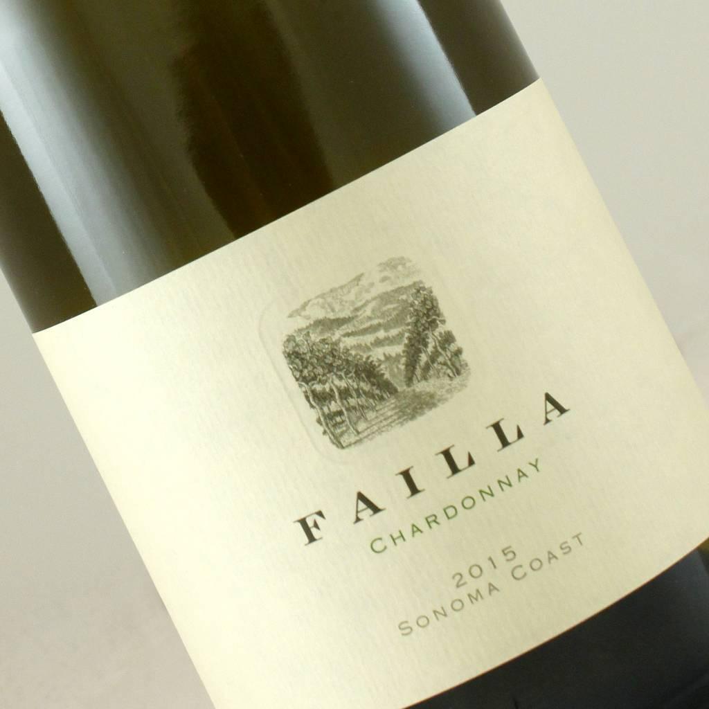 Failla 2015 Chardonnay, Sonoma Coast