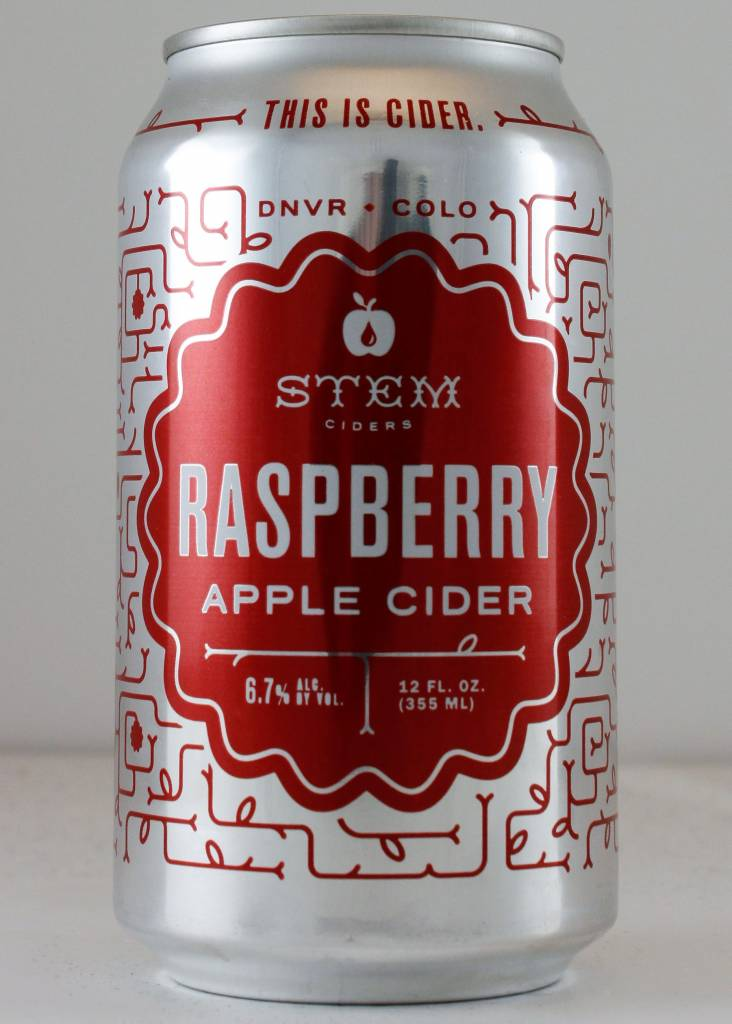 Stem Cider Raspberry Apple Cider