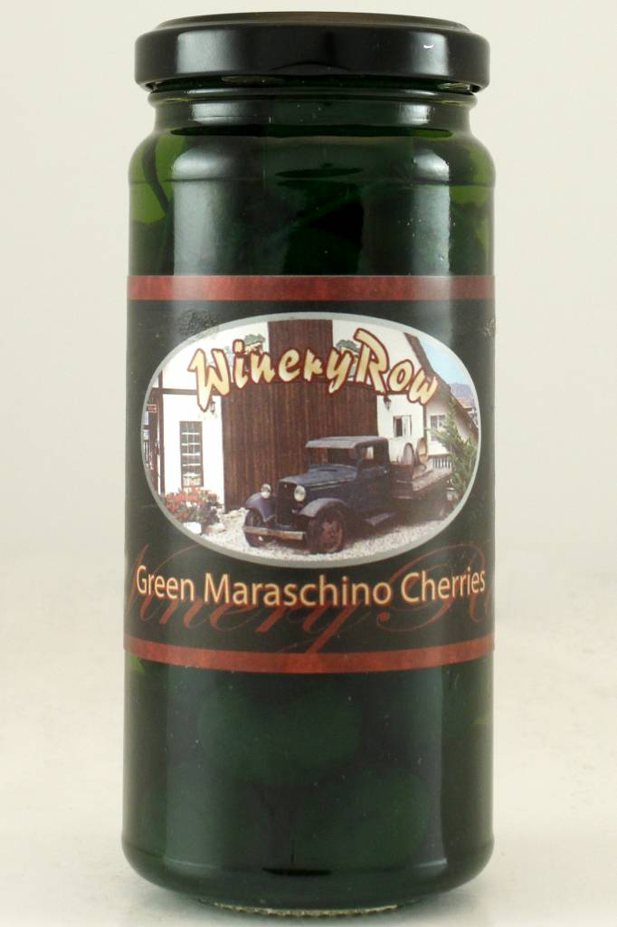 Winery Row Green Maraschino Cherries