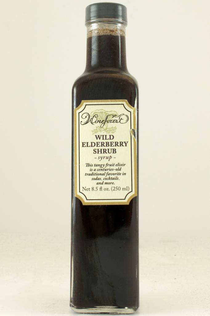 Wine Forest Elderberry Shrub Syrup