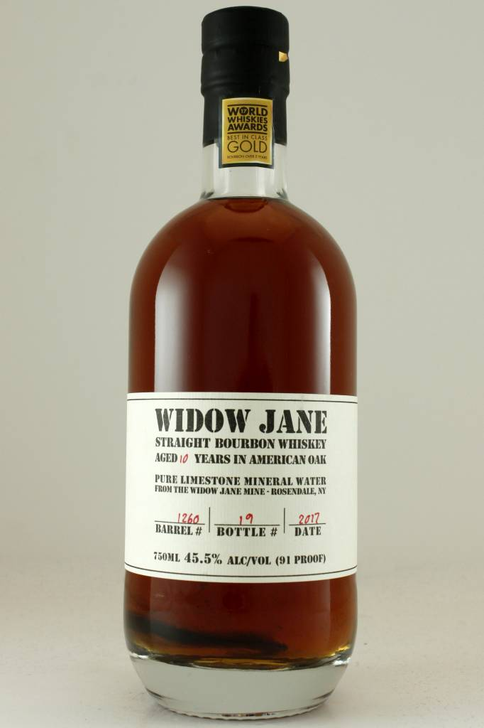 Widow Jane Straight Bourbon Whiskey Aged 10 Years