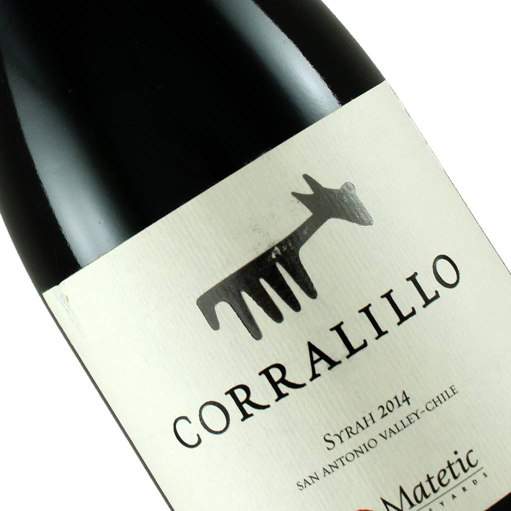 Matetic Corralillo 2014 Syrah, Chile