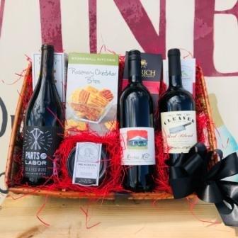 California Big Red Blend Gift Basket