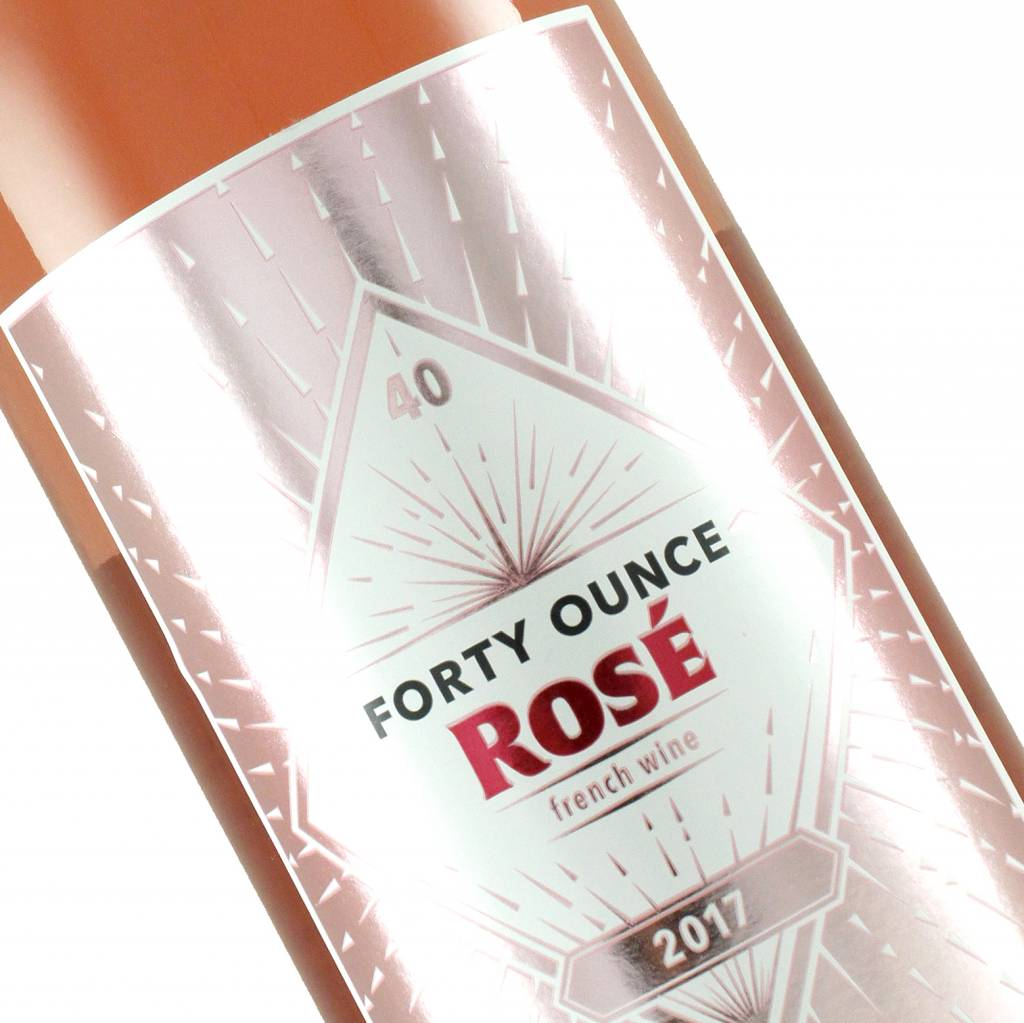 Forty Ounce 2017 Rose, Vin de France