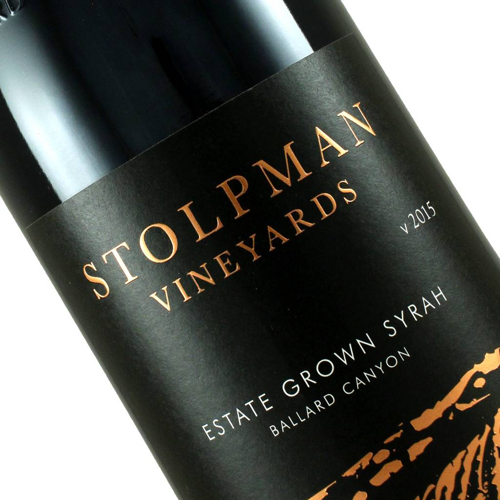 Stolpman 2015 Estate Syrah, Ballard Canyon