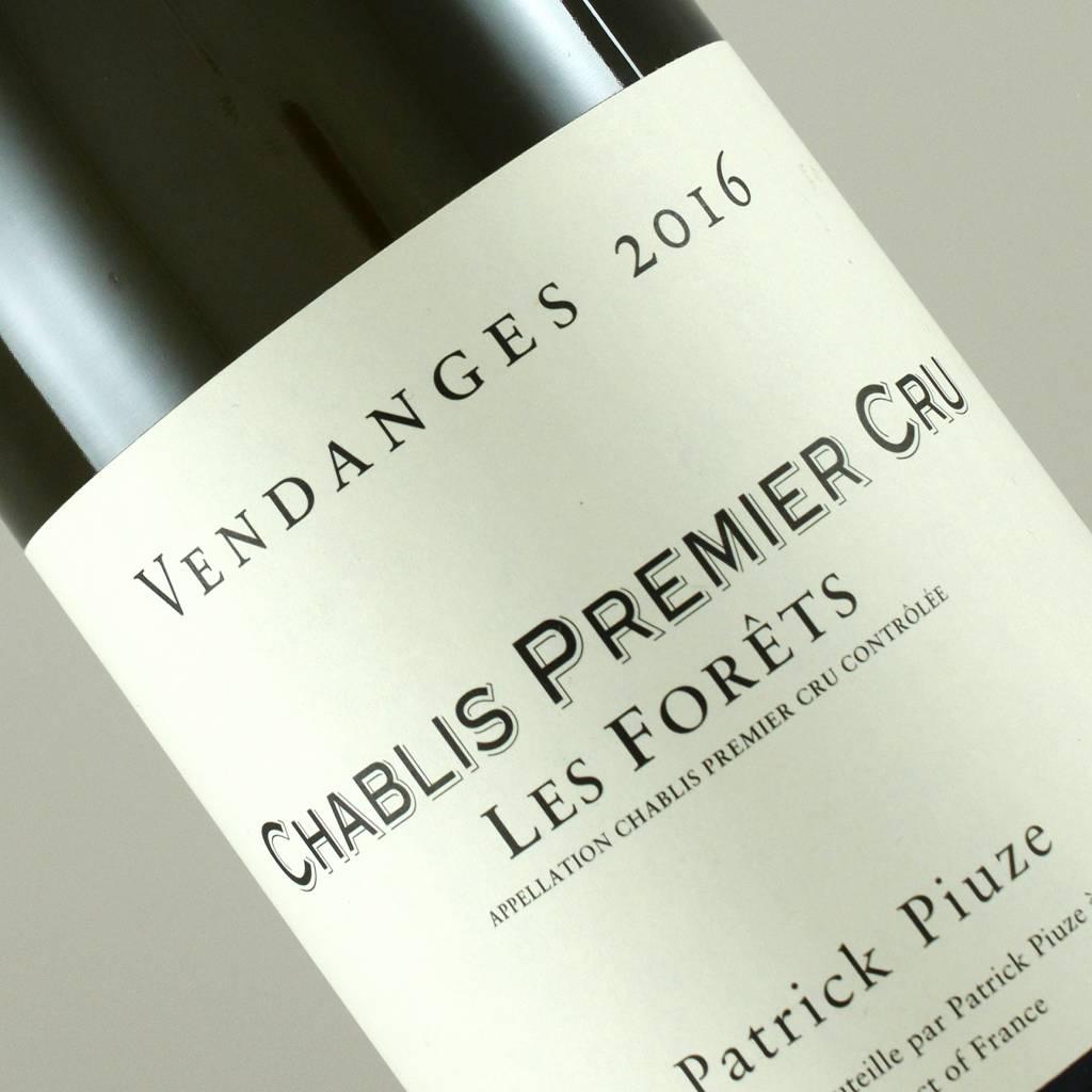 """Patrick Piuze 2016 """"Les Forets"""" Chablis Premier Cru, Burgundy"""