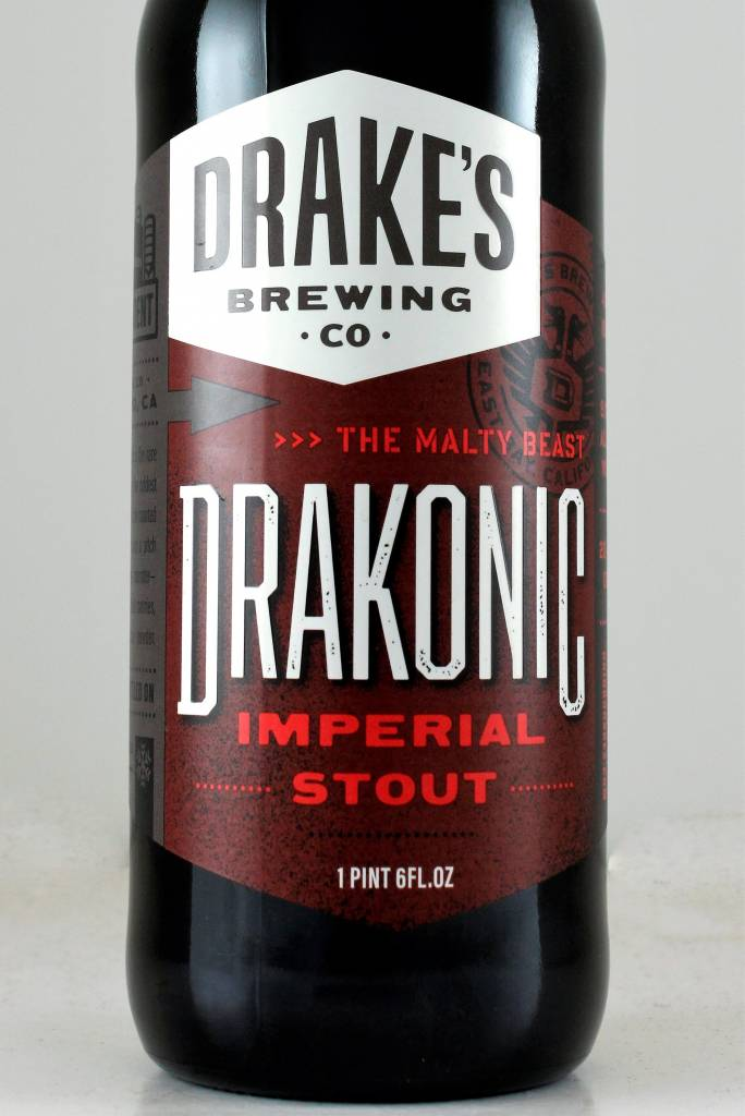 """Drake's Brewing """"Drakonic"""" Imperial Stout"""