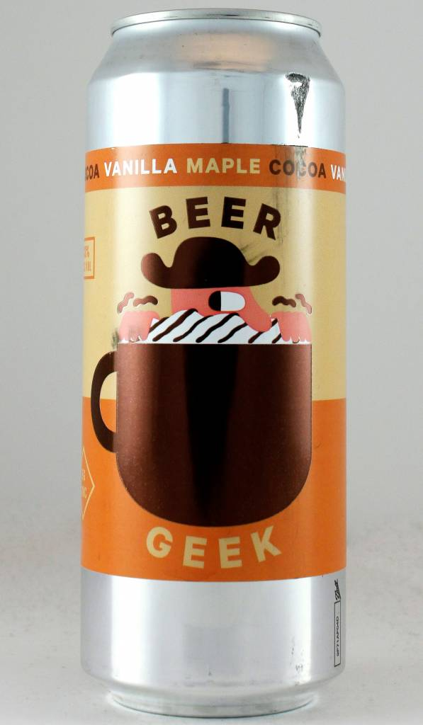 "Mikkeller ""Beer Geek Vanilla Maple Cocoa Oatmeal Stout"" - 500ml can"