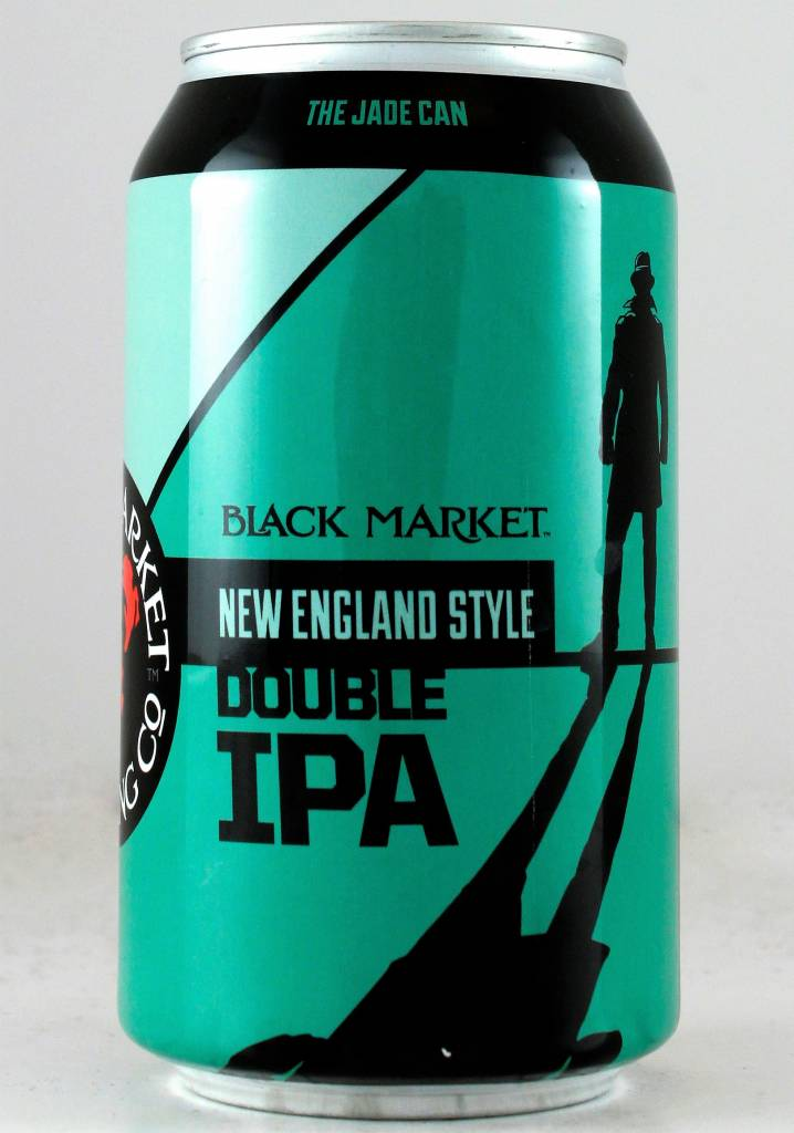 "Black Market Brewing ""New England Style Double IPA"", California - 12oz can"