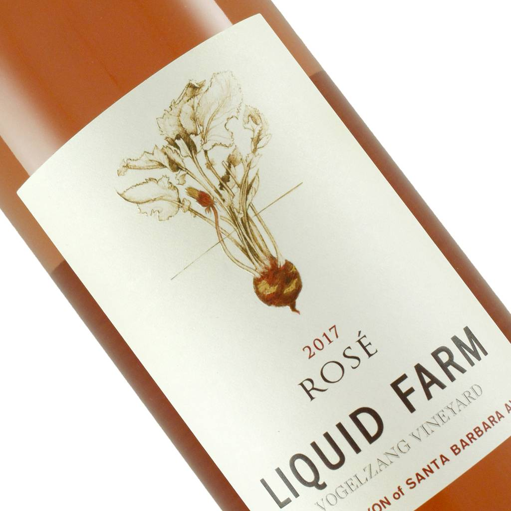 Liquid Farm 2017 Rose, Happy Canyon, Santa Barbara County, California