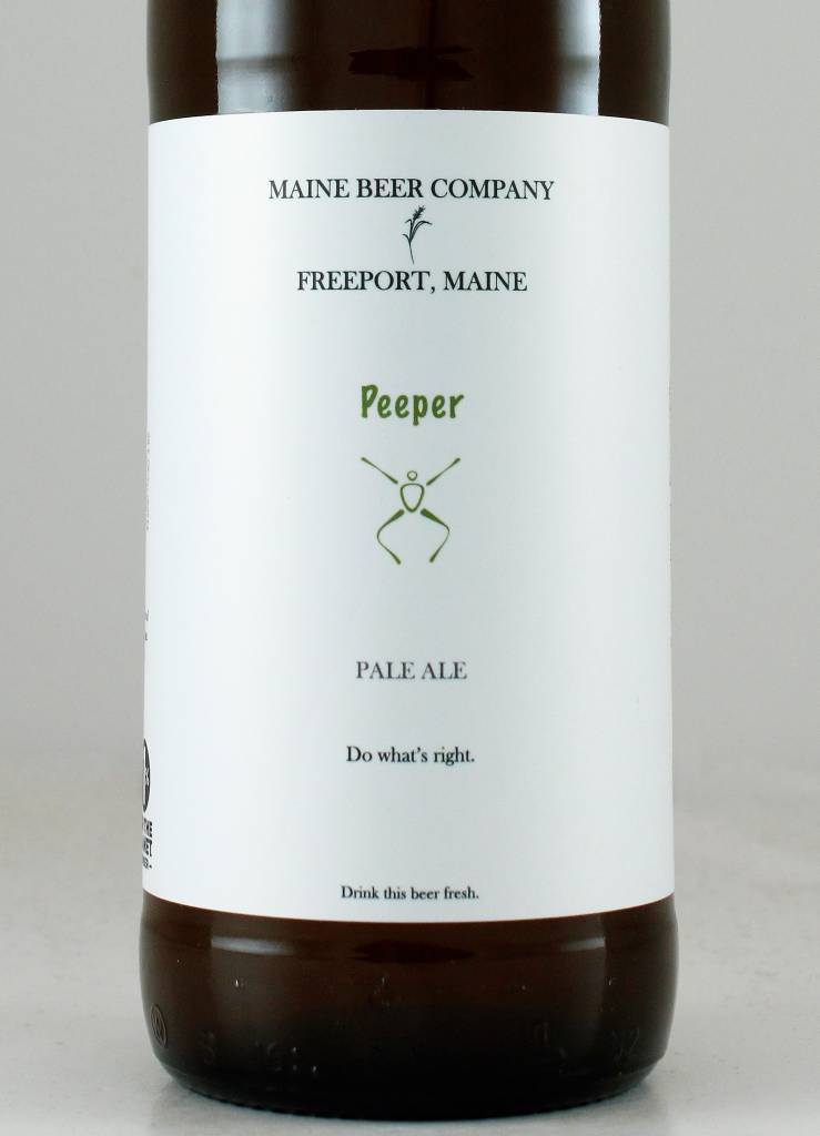 "Maine Beer Co. ""Peeper"" Pale Ale"