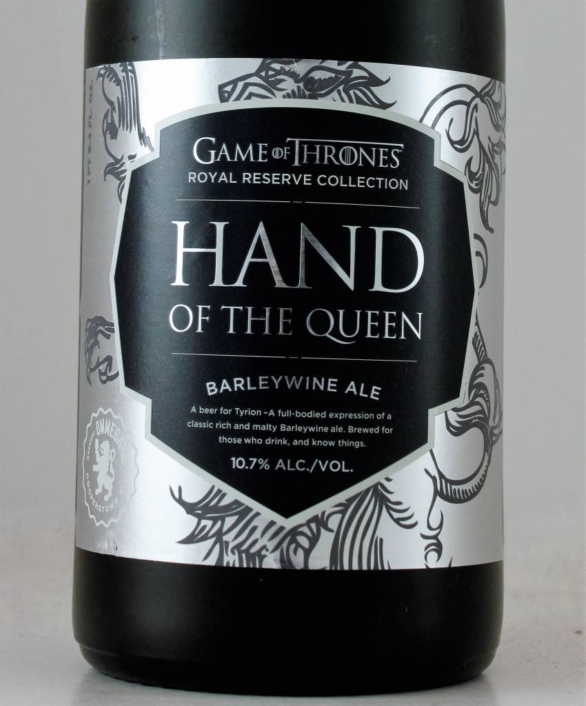 "Ommegang Brewery Game of Thrones ""Hand of the Queen"" Barleywine Ale"