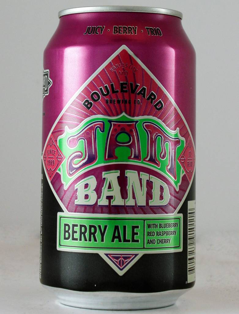 "Boulevard Brewing ""Jam Band"" Berry Ale - 12oz can"