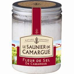 Le Saunier de Camargue Fleur de Sel Sea Salt in glass