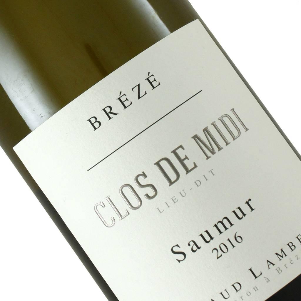 Chateau de Breze 2016 Clos de Midi Saumur Blanc, Loire Valley, France