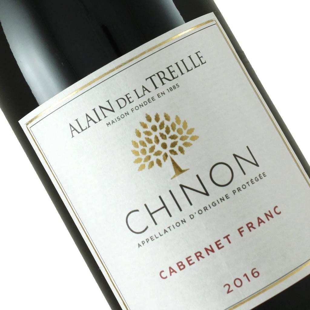Alain de la Treille 2016 Chinon Cabernet Franc, Loire Valley