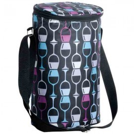 Chris's Stuff Two Bottle Insulated Bag- Assorted Patterns