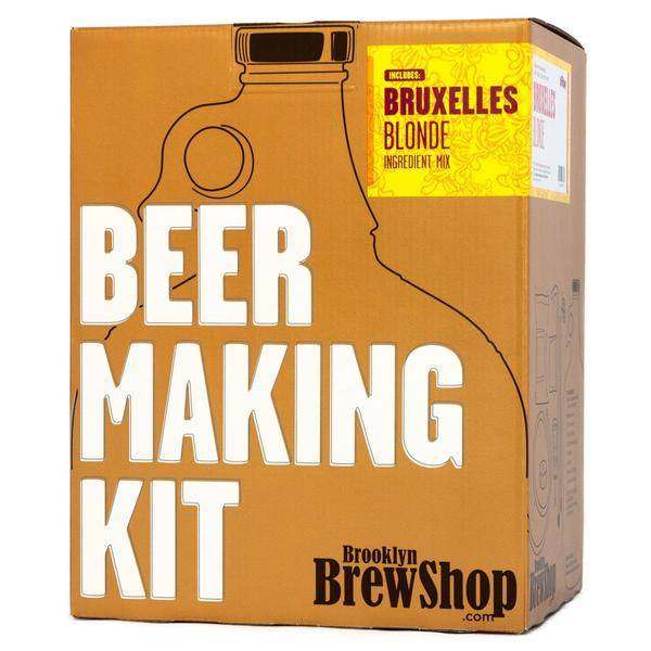 Brooklyn Brew Shop Beer Making Kit: Bruxelles Blonde