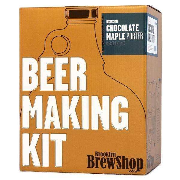 Brooklyn Brew Shop Beer Making Kit: Chocolate Maple Porter