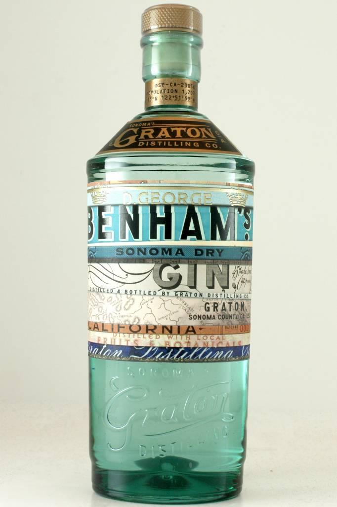 Graton's Distilling Benham's Sonoma Dry Gin