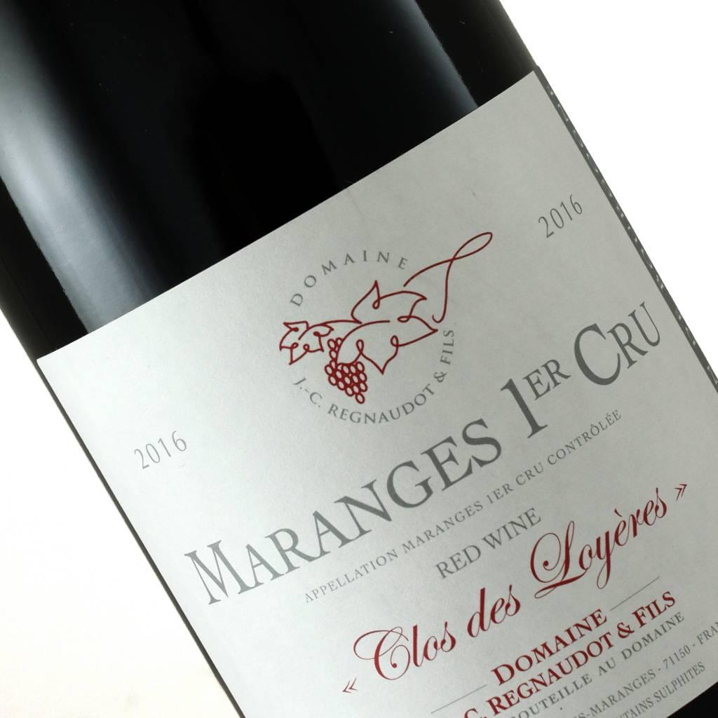 "Domaine Regnaudot 2016 Maranges 1er Cru,""Clos des Loyeres"", Burgundy, France"