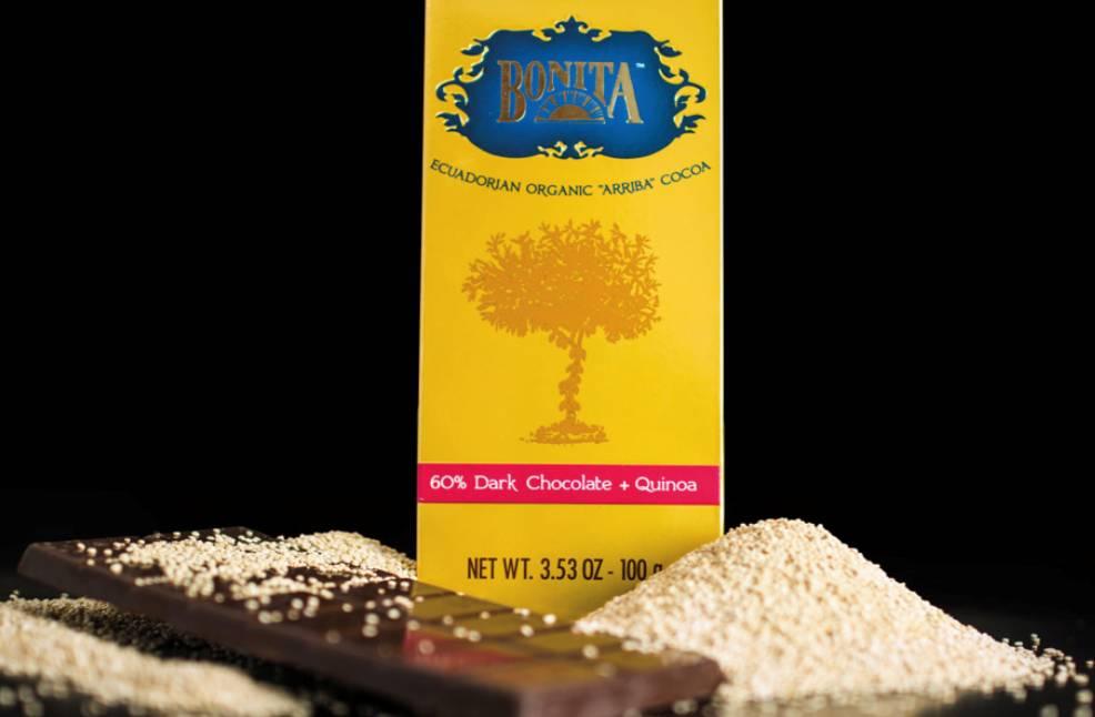 Bonita 60% Dark Chocolate with Quinoa, Ecuador