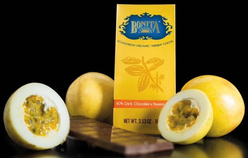 Bonita 60% Dark Chocolate & Passion Fruit, Ecuador