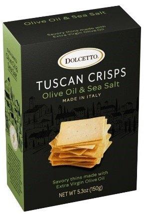 Dolcetto Tuscan Crisps Olive Oil & Sea Salt