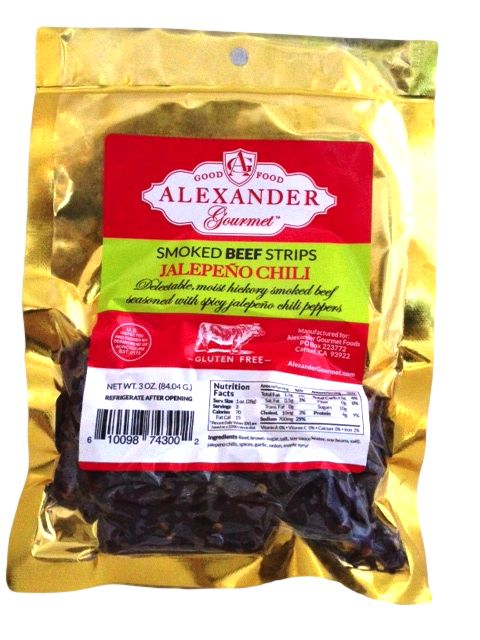 Alexander Beef Strips Jalapeno Chili