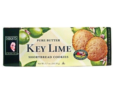 Nikki's Key Lime Shortbread Cookies, Wisconsin