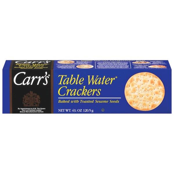 Carr's Toasted Sesame Table Water Crackers 4.5oz