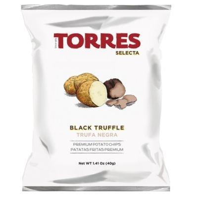 Torres Black Truffle Potato Chips