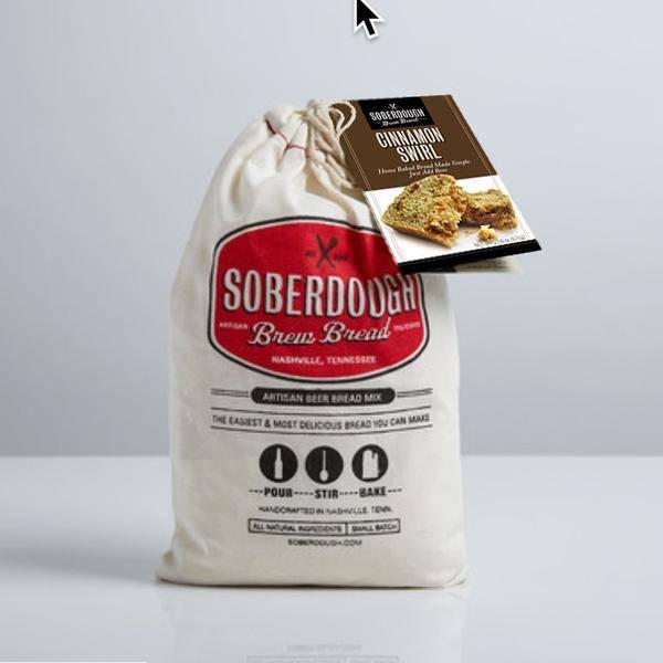 Soberdough Brew Bread Cinnamon Swirl
