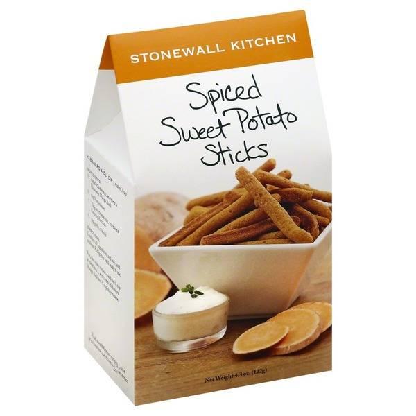 Stonewall Spiced Sweet Potato Sticks
