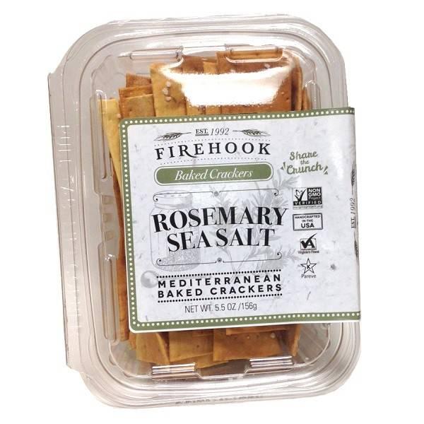 Firehook Rosemary Sea Salt Crackers Minis