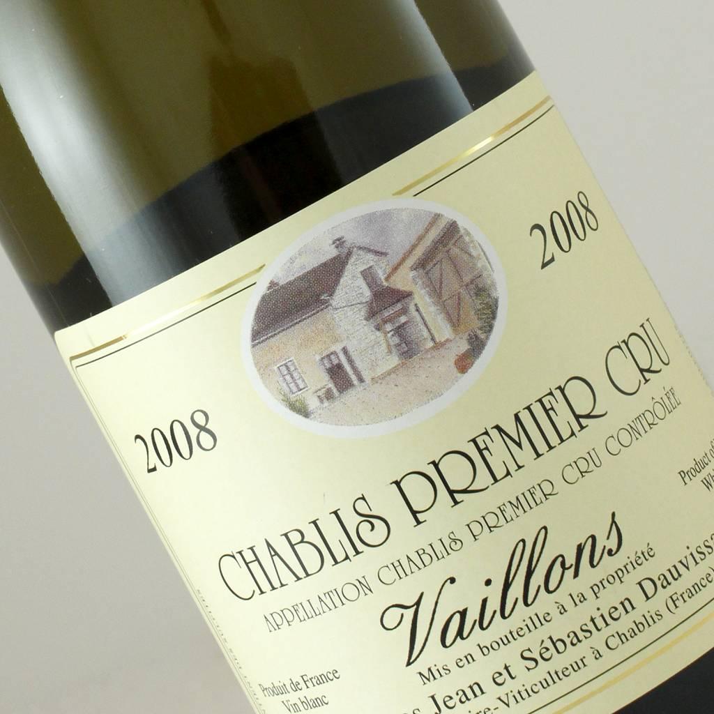 Jean et Sebastien Dauvissat 2008 Chablis 1er Cru Vaillons, Burgundy