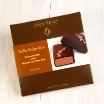 John Kelly 4 pc Peanut Butter with Himalayan Pink Salt Truffle Fudge Bites, Los Angeles