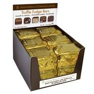 John Kelly 1 Pc Semi Sweet Chocolate & Peanut Butter Truffle Fudge, Los Angeles 1.7oz