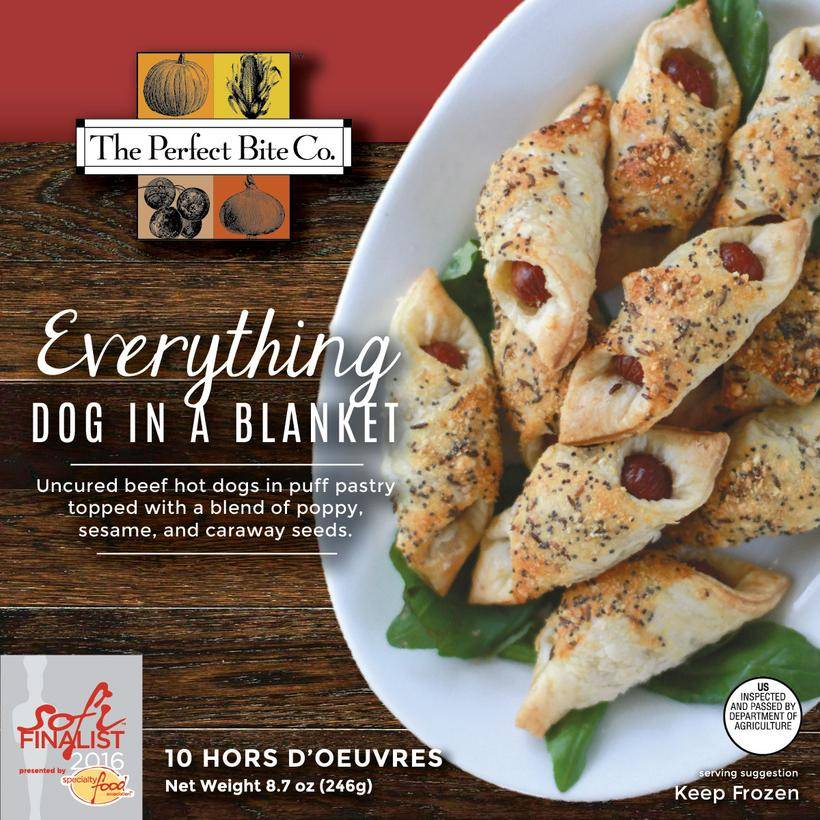 The Perfect Bite Company Everything Dog In A Blanket