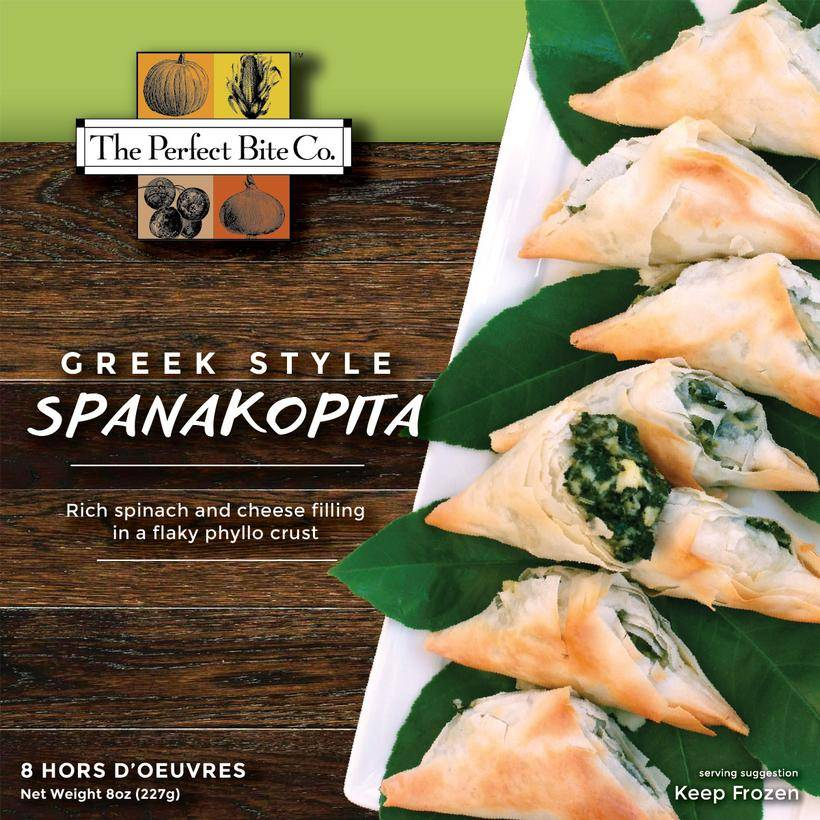 The Perfect Bite Company Spanakopita